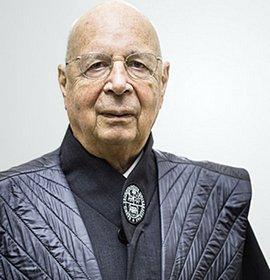 Klaus Schwab, patron del Wef di Davos