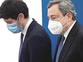 Speranza e Draghi