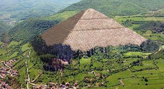 Grande Piramide di Visoko, rendering