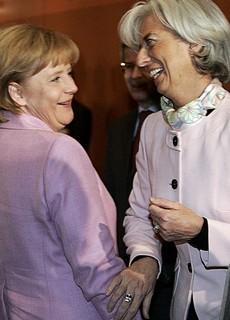 Lagarde e Merkel