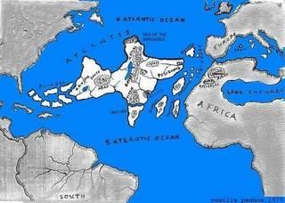 Mappa di Atlantide, ricostruzione